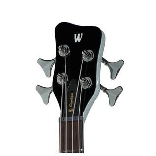 Warwick Rockbass StarBass 4-String Bass, Racing Silver