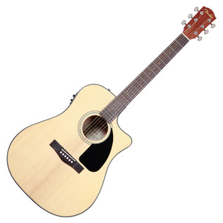 Fender CD-60CE Electro Acoustic Guitar, Natural