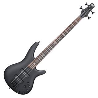 Ibanez SR300EB-WK Bass Guitar, Weathered Black