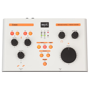 SPL Creon USB Audio-Interface & Monitor Controller - Top View