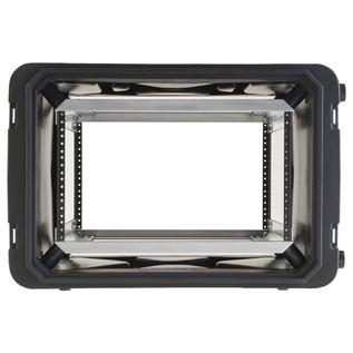 SKB 20'' Deep 6U Roto Shockmount Rack Case - Front Open