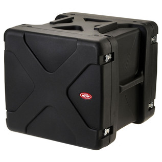 SKB 20'' Deep 10U Roto Shockmount Rack Case -