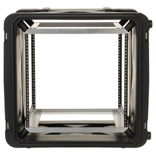 SKB 20'' Deep 10U Roto Shockmount Rack Case - Front Open