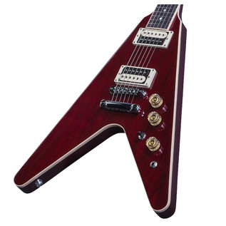 Gibson Flying V Pro 2016 High Performance Electric Guitar, Wine Red