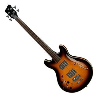 Warwick Rockbass StarBass Left Handed 4-String Bass, Vintage Sunburst