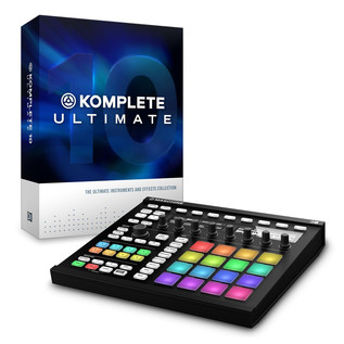 Native Instruments Maschine MK2, Black with Komplete 10 Ultimate