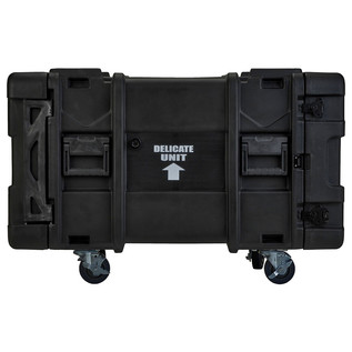 SKB 30'' Deep 8U Roto Moulded Shock Rack Case - Side