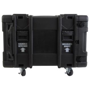 SKB 30'' Deep 10U Roto Moulded Shock Rack Case - Side