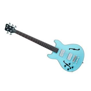Warwick Rockbass StarBass Left Handed 5-String Bass, Daphne Blue