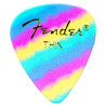 Fender forme 351    Premium Rainbow Picks, mince, Pack de 12