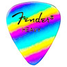 Fender 351 figur Premium Rainbow Picks, Heavy, pakke med 12