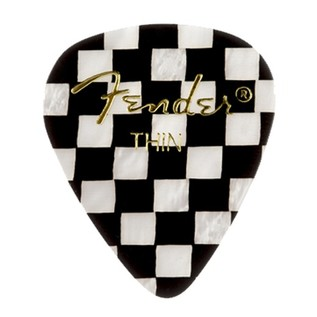 Fender 351 Shape, Thin Checker Pick, Pack of 12