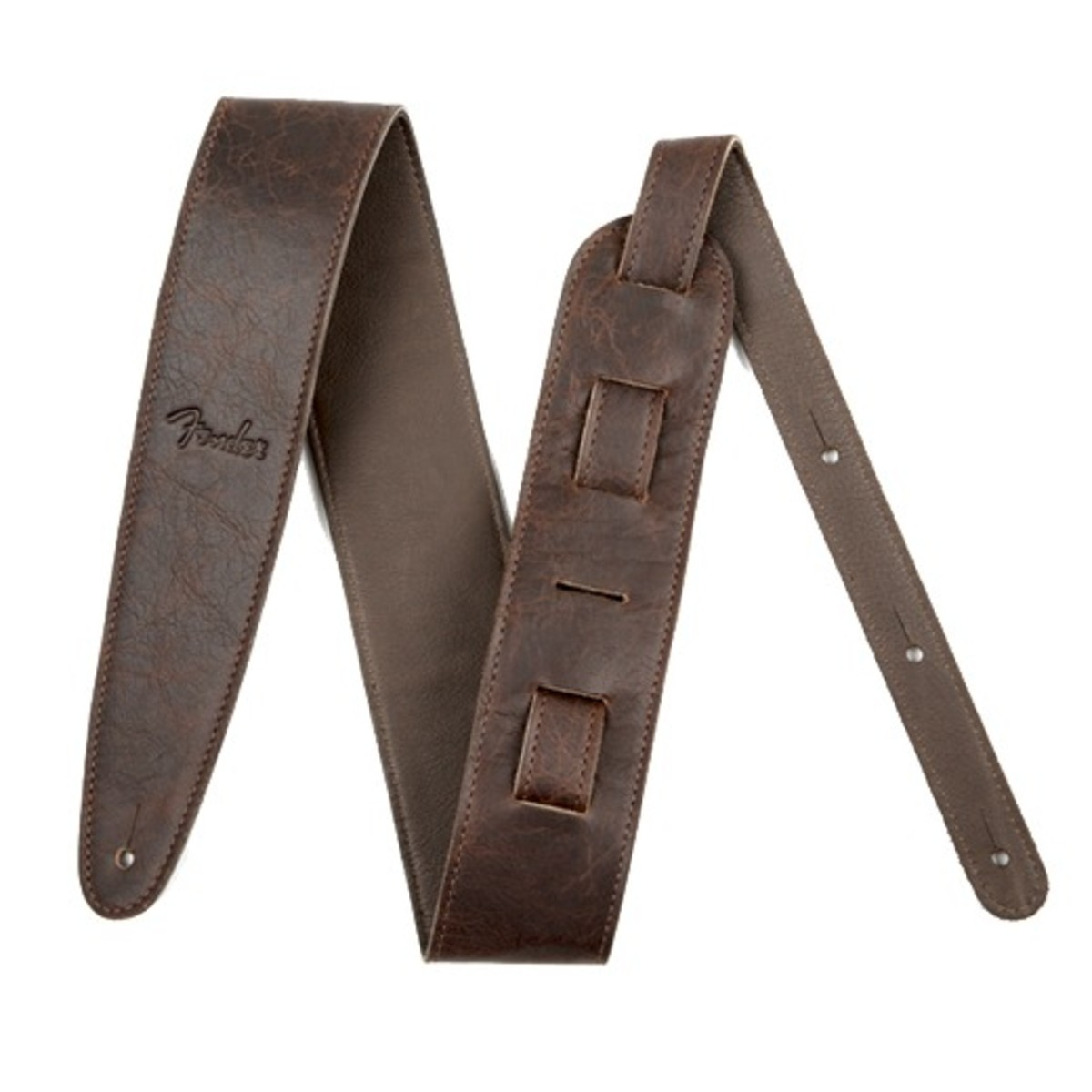 fender artisan crafted leather guitar strap 2 5 brown at. Black Bedroom Furniture Sets. Home Design Ideas
