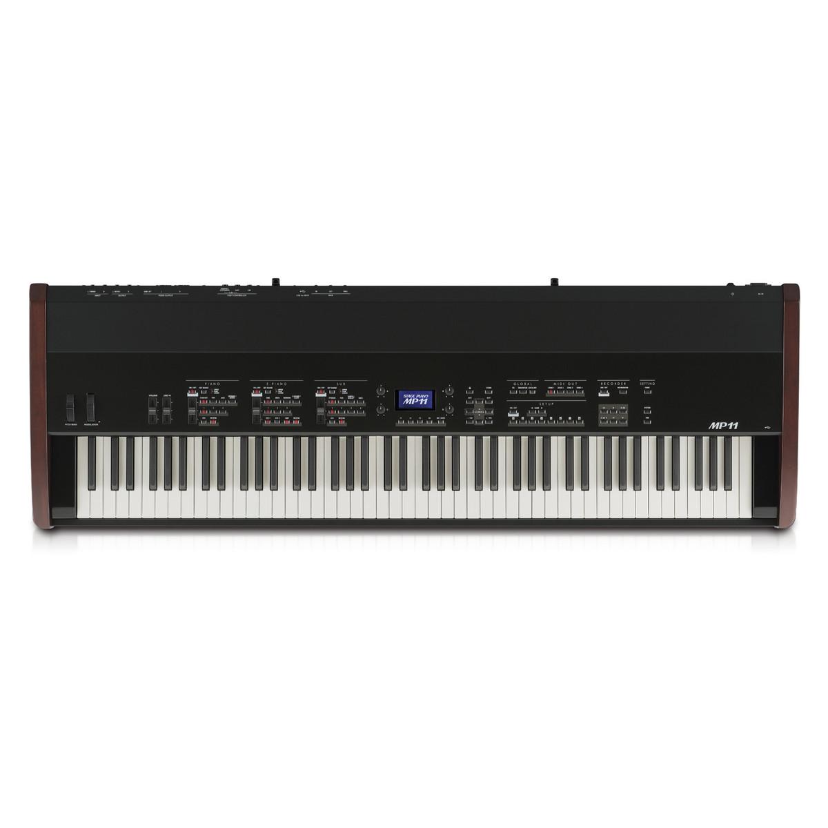 kawai mp11 digital stage piano black at