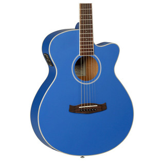 Tanglewood Discovery G4MSFCE Electro Acoustic, Dark Cobalt Blue