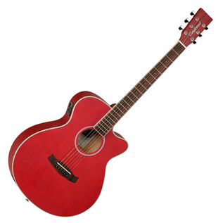 Tanglewood Discovery G4MSFCE Electro Acoustic, Red