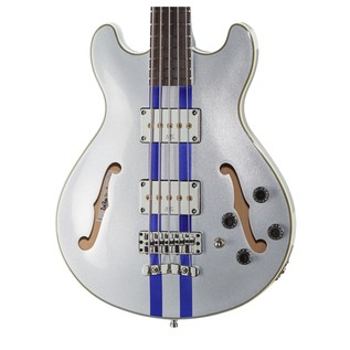 Warwick Rockbass StarBass 5-String Bass, Racing Silver