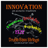 Innovation Golden Slap Kontrabass Saiten Set