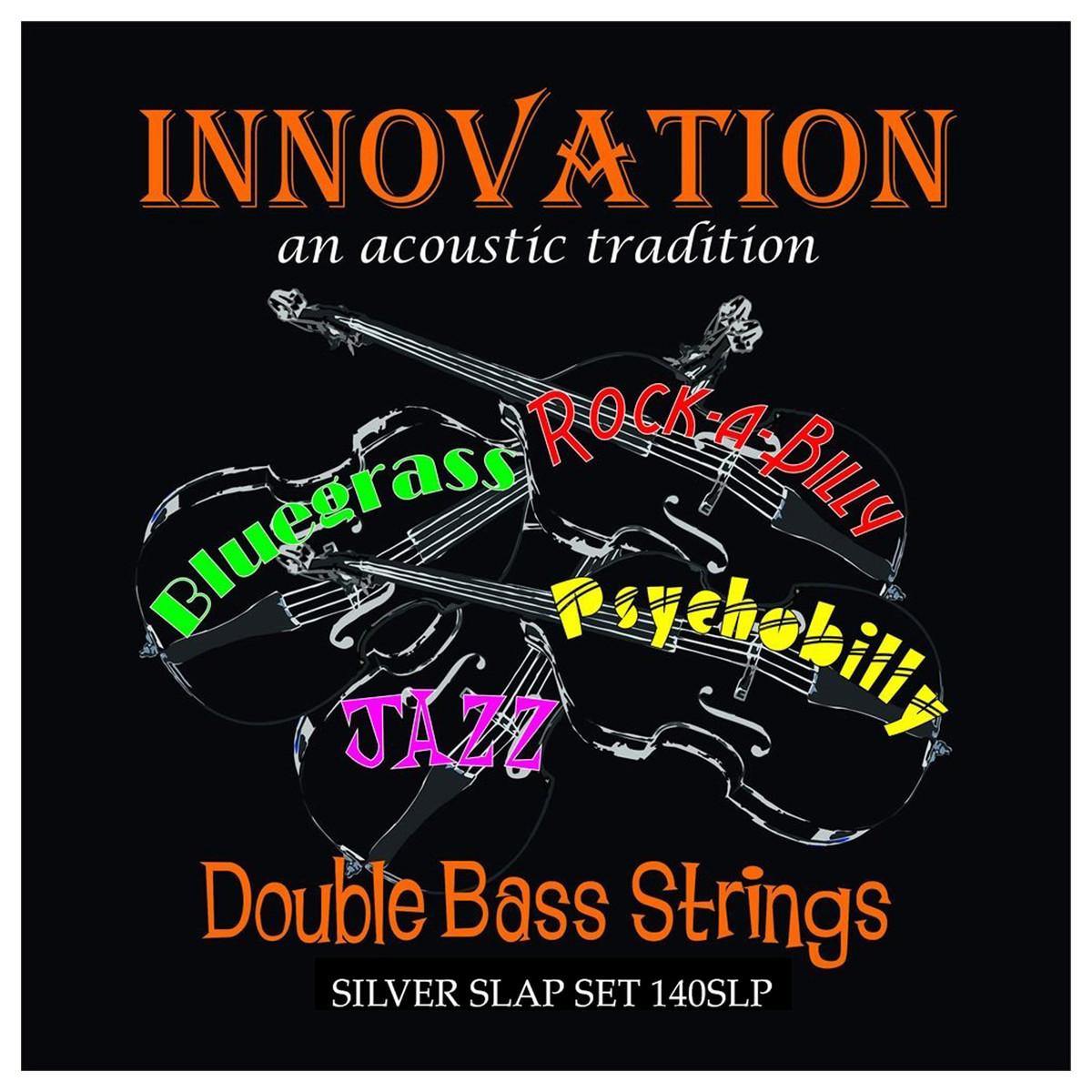 innovation silver slap double bass string set at. Black Bedroom Furniture Sets. Home Design Ideas