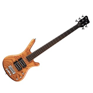 Warwick Rockbass Corvette $$ 5-String Bass Guitar, Honey Violin