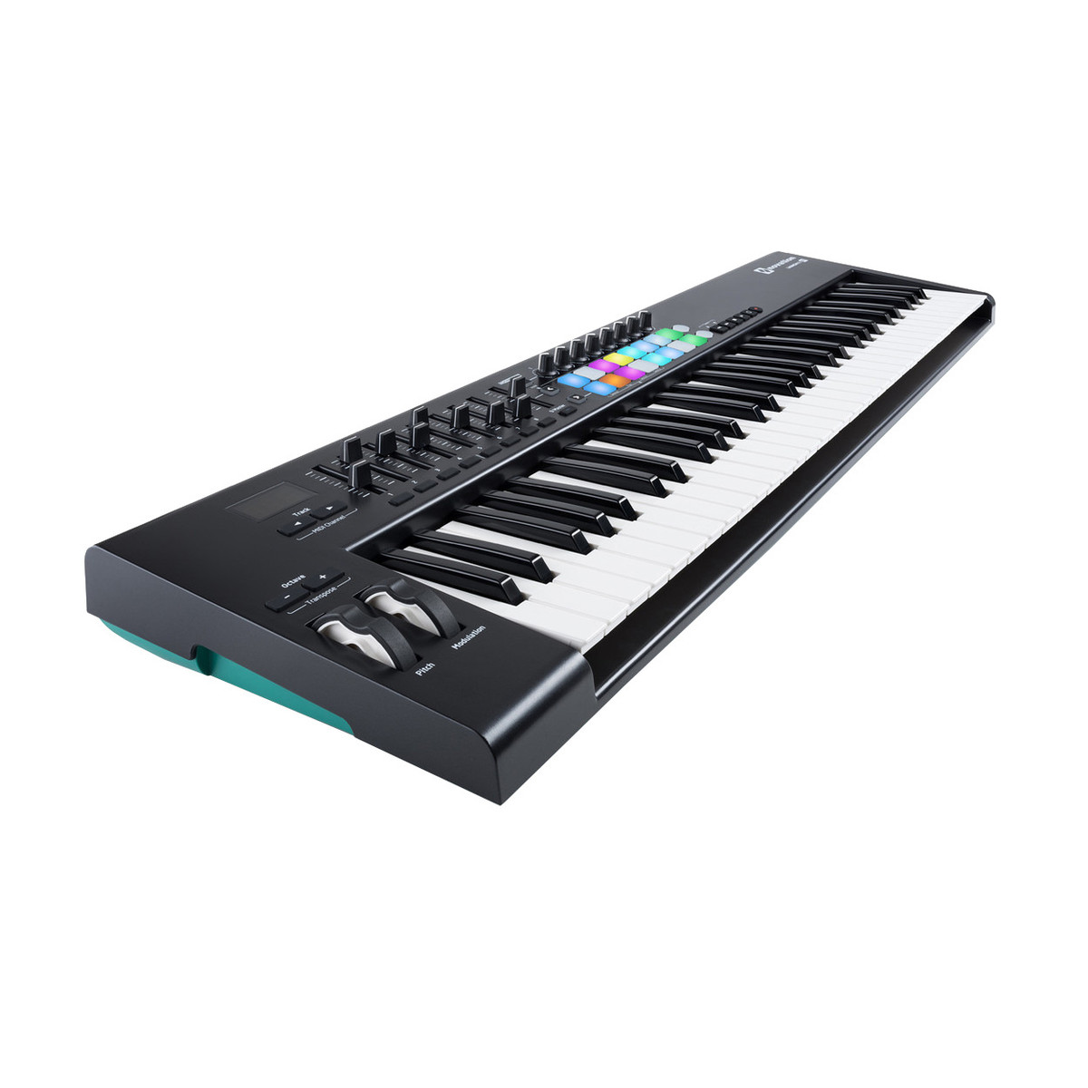 novation launchkey 61 mk2 midi controller keyboard at. Black Bedroom Furniture Sets. Home Design Ideas