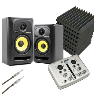 KRK Ultimate Home Studio Bundle - Gear4music Exclusive