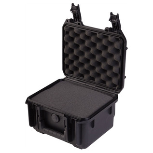 SKB iSeries 0907-6 Waterproof Case (With Cubed Foam) - Angled Open