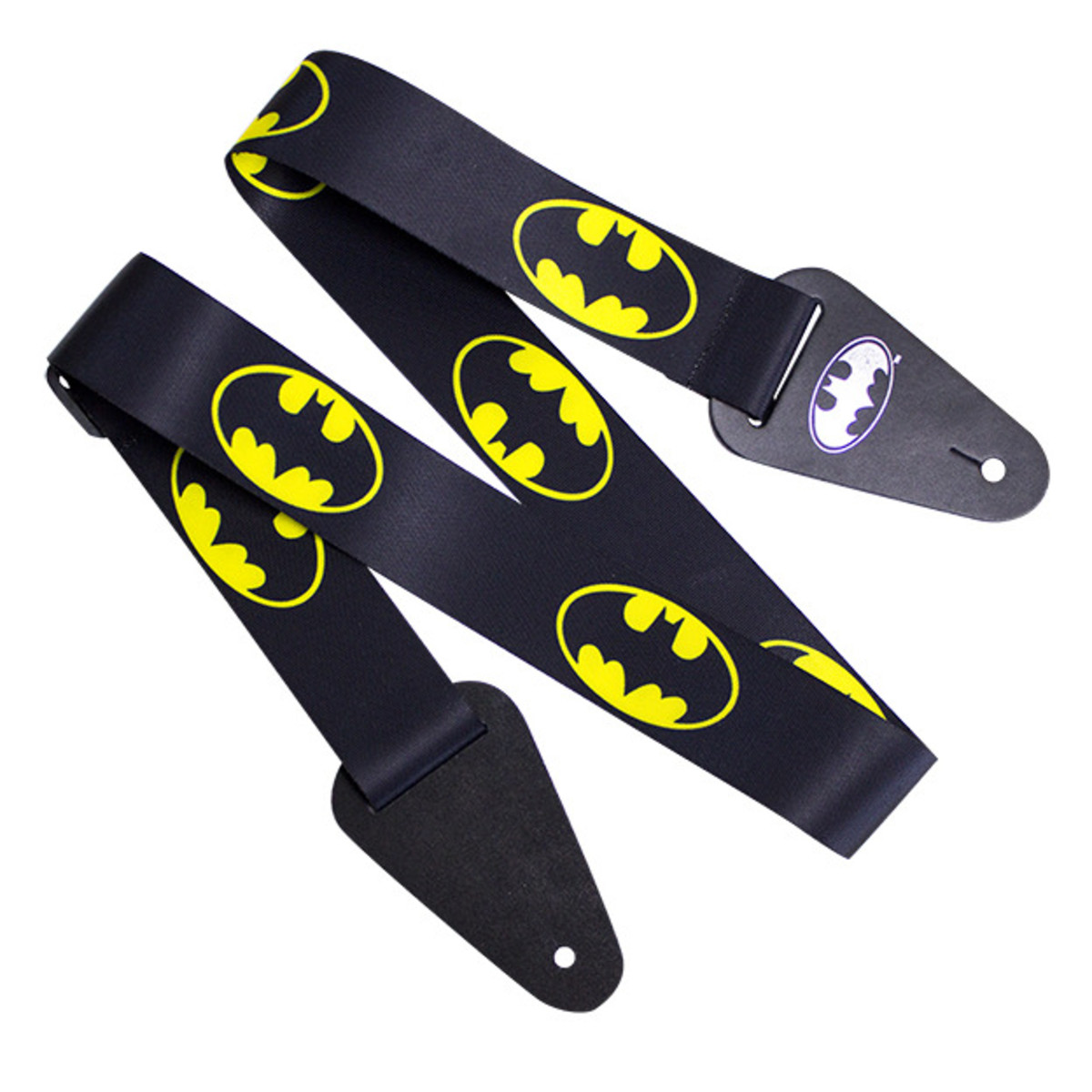 Image of Batman Logo Fabric Guitar Strap