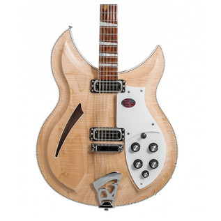 Rickenbacker 381/V69 12 String Hollowbody Guitar, Mapleglo