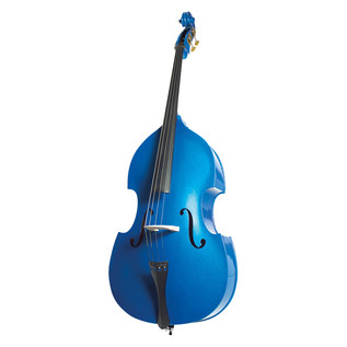 Stentor Rockabilly 3/4 Double Bass, Blue