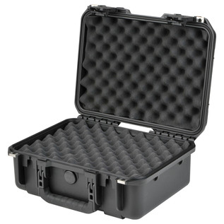 SKB iSeries 1610-5 Waterproof Case (With Layered Foam) - Angled Open 2