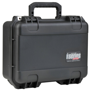 SKB iSeries 1610-5 Waterproof Case (With Layered Foam) - Angled Closed