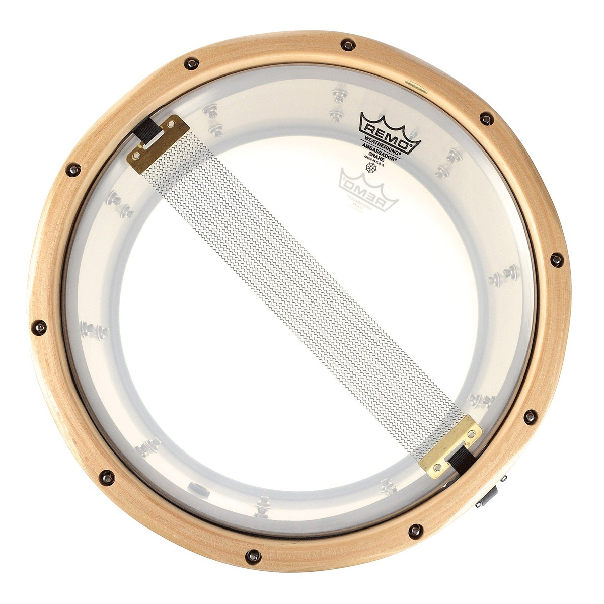 gretsch gold series 14 x 6 5 aluminium snare drum with wood hoops at. Black Bedroom Furniture Sets. Home Design Ideas