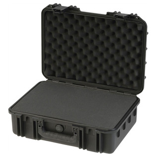 SKB iSeries 1711-6 Waterproof Case (With Cubed Foam) - Angled Open
