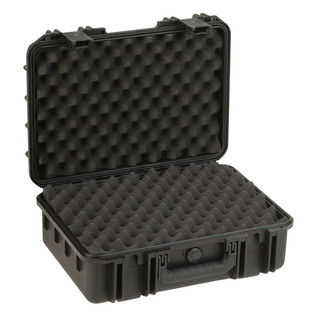 SKB iSeries 1711-6 Waterproof Case (With Layered Foam) - Angled Open