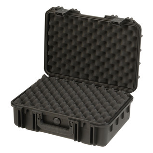 SKB iSeries 1711-6 Waterproof Case (With Layered Foam) - Angled Open 2