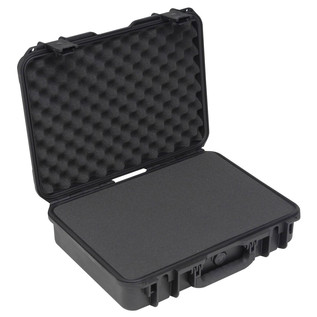 SKB iSeries 1813-5 Waterproof Case (With Cubed Foam) - Angled Open 2