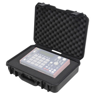 SKB iSeries 1813-5 Waterproof Case (With Cubed Foam) - Angled Open 2 (Contents Not Included)