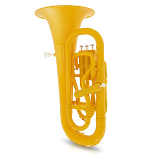 playLITE Hybrid Euphonium by Gear4music, Yellow