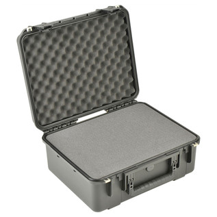 SKB iSeries 1914N-8 Waterproof Case (With Cubed Foam) - Angled Open
