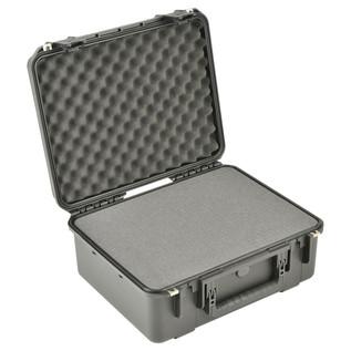 SKB iSeries 1914N-8 Waterproof Case (With Cubed Foam) - Angled Open