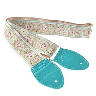 Souldier Guitar Strap Medallion, Teal