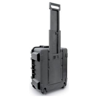 SKB iSeries 1914-8 Waterproof Case (With Cubed Foam) - Rear Handle Extended