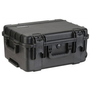 SKB iSeries 1914-8 Waterproof Case (With Cubed Foam) - Angled Flat