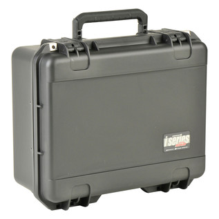 SKB iSeries 1914-8 Waterproof Case (With Layered Foam) - Angled