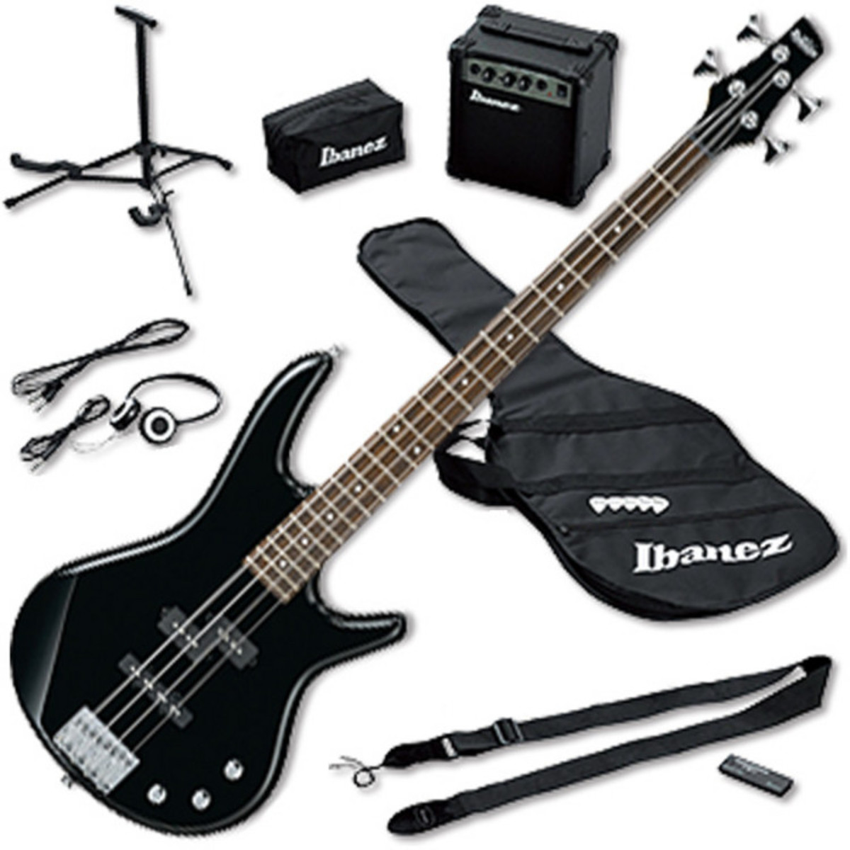 ibanez ijsr190e jump start pack basse black ex d mo. Black Bedroom Furniture Sets. Home Design Ideas