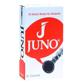 Juno by Vandoren Bb Clarinet Reeds 10 Pack, Strength 2.5
