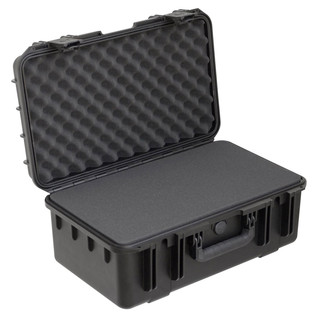 SKB iSeries 2011-8 Waterproof Case (With Cubed Foam) - Angled Open 2