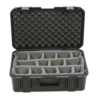 SKB iSeries 2011-8 Waterproof Case (With Dividers) - Front Open
