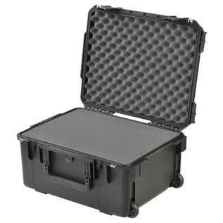 SKB iSeries 2015-10 Waterproof Utility Case (With Cubed Foam) - Angled Open 2